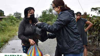 Continúan entregando kits de alimentos por parte del Municipio de Pastaza