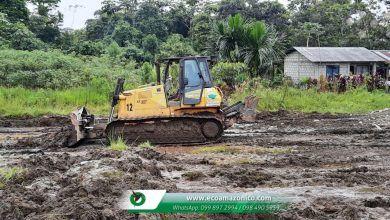 El GADPPz ejecuta la adecuación de la Pista de Motocroos en la Comunidad Amazonas