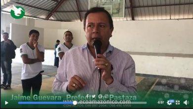 El Prefecto de Pastaza inauguró la Escuela de Fútbol de la parroquia