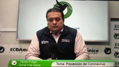 Entrevista con el Zonal de Salud 3 Héctor Pulgar