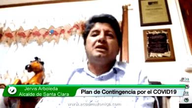 Alcalde de Santa Clara informa sobre la emergencia del COVID19 en su cantón