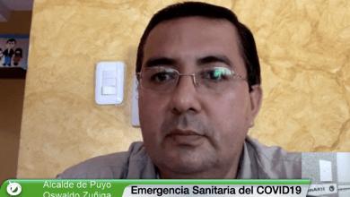 Alcalde informa sobre el Plan de contingencia por el COVID19 en Pastaza