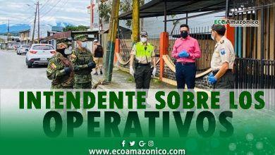 Intendente explica los diferentes operativos en Pastaza por el COVID19