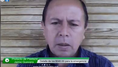 Prefecto de Pastaza informa sobre la distribución de los $340.000 en esta emergencia