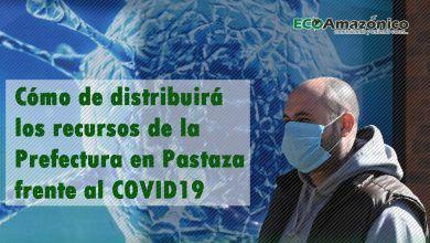 Distribución de los $340.000 para la emergencia del COVID19 en Pastaza