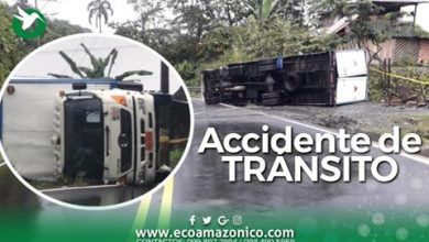 Accidente de Trànsito en Pastaza