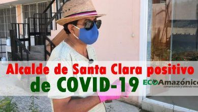 Alcalde de Santa Clara positivo para COVID-19