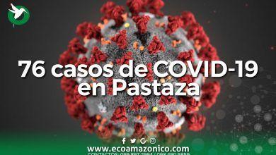 76 casos de COVID-19