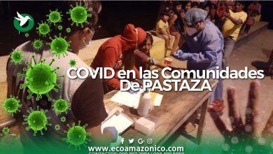Coronaviris en las Comunidades Indigenas de Pastaza