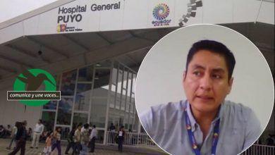 """""""El sistema del Hospital Puyo no ha colapsado"""""""