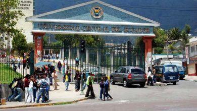 Período de matriculación en la Universidad Central del Ecuador
