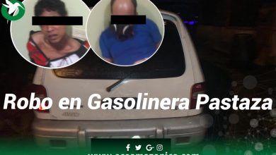 Robo en la gasolinera de las Américas en Pastaza