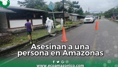 Asesinato a una persona en la Comunidad Amazonas en Madre Tierra