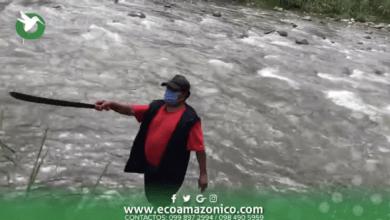 Piden ayuda por inundación del rio Pindo