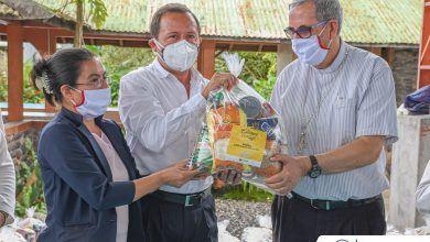 293 familias recibieron su kits de alimentos por el Patronato de Pastaza