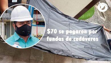 GAD de Mera adquirió fundas para cadáveres en $70