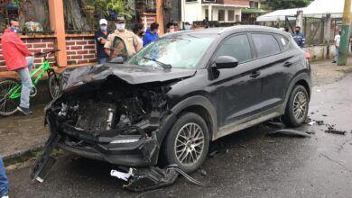 Accidente en las Palmas deja un herido de gravedad