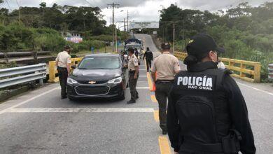 Mega Operativo Policial se realizó en Puyo
