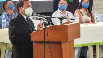 Prefecto participó en la Sesión Solemne de la cantonización de Arajuno