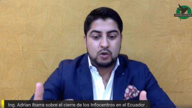 Rechazan el cierre de los infocentros del Ecuador