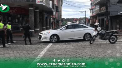 Sancionado conductor que la Policía detuvo en persecución en Puyo