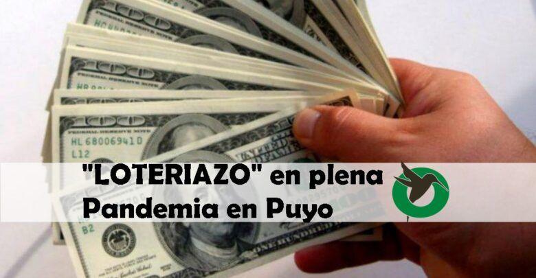 """Le roban $8.000 con la modalidad del """"Loteriazo"""" a las afueras de banco de Puyo"""
