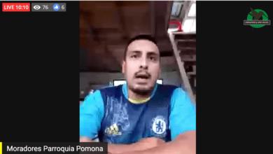 Moradores de Pomona piden la salida de la Tenienta Política Jessica Zambrano