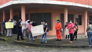 Marchas por falta de pagos a personal de la Salud en Pastaza