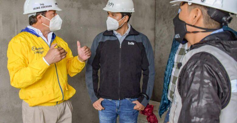 Técnico del BDE recorrió proyectos en Pastaza