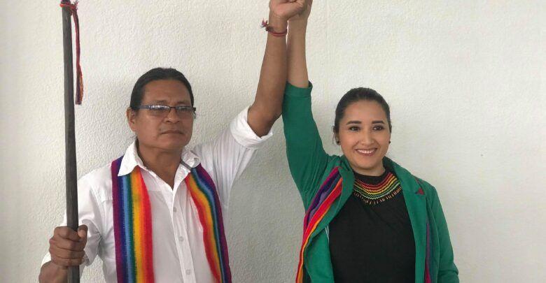 Rueda de prensa de Pachakutik sobre las primarias para Asambleista