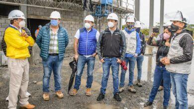 Prefecto realizó recorrido de obras financiadas por el BDE