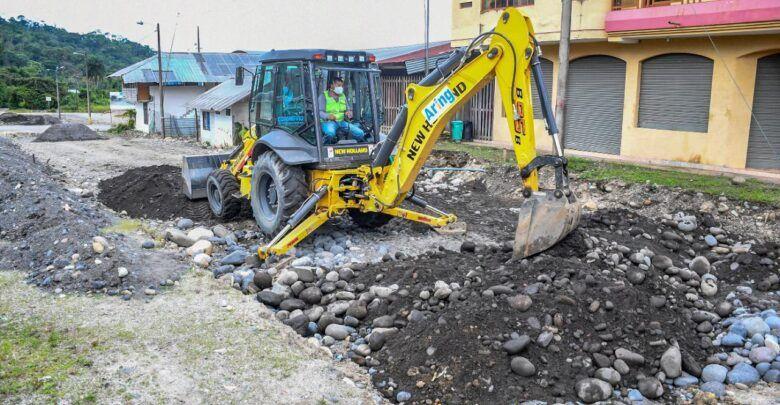 El Proyecto de asfaltado de las calles del barrio Las Playas avanza