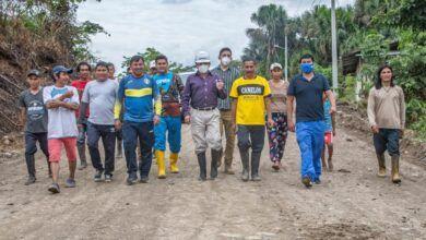 Prefectura de Pastaza apoya mediante mingas comunitarias, a GADs Parroquiales