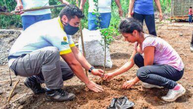 Prefectura de Pastaza entregó plantas para la recuperación de suelos degradados en Madre Tierra