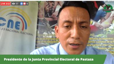 Perfil de Cesar Zurita y su trabajo como Presidente de la Junta Electoral de Pastaza