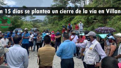 Amenazan con cerrar la vía en Villano si la empresa petrolera Pluspetrol no cumple los acuerdos
