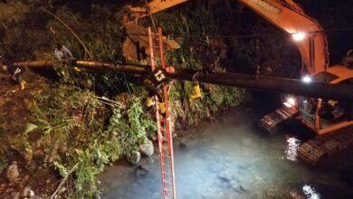 Luego de 15 horas de trabajo se reactivo el agua en varios sectores de Puyo