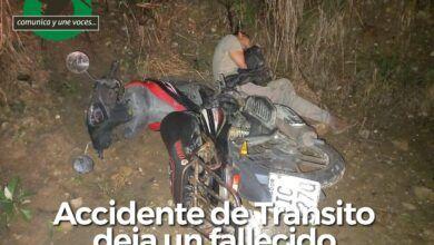 Una persona fallecida en accidente de tránsito en la vía a Pomona