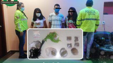 Detienen a tres microtraficantes de droga en Puyo