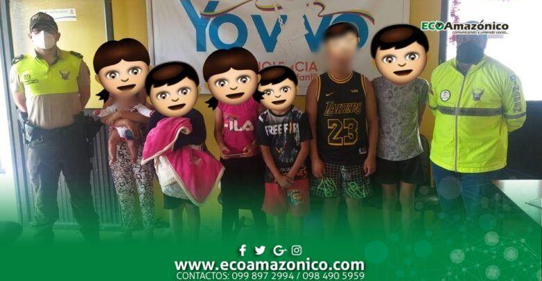 Menores hurtaron en Baños y fueron detenidos en Puyo