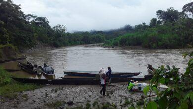 Comuneros localizan a la menor ahogada en el río Villano