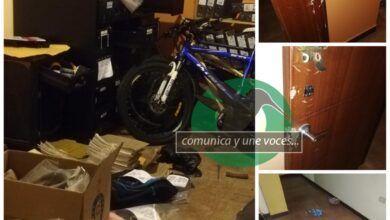 Roban las instalaciones de la Jefatura Antinarcóticos en Puyo