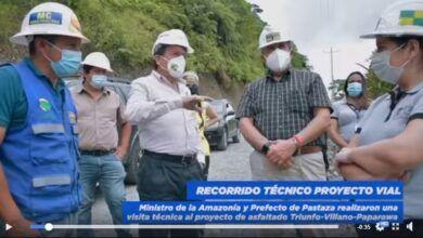 RECORRIDO TÉCNICO PROYECTO VIAL