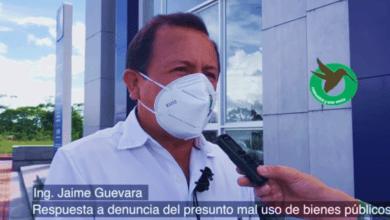 Jaime Guevara ante las últimas denuncias de mal uso de bienes públicos