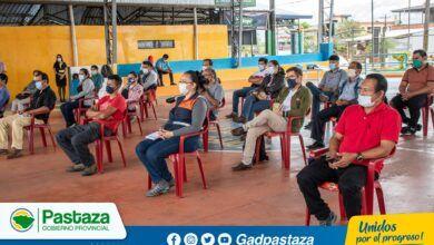 Prefectura de Pastaza realizó taller participativo de levantamiento de información ambiental