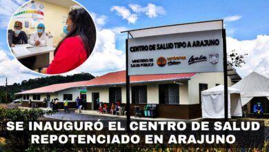 SE INAGURÓ EL CENTRO DE SALUD REPOTENCIADO EN ARAJUNO