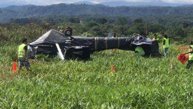 Accidente aéreo en Pastaza deja 4 personas heridas