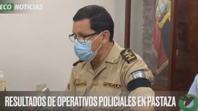 RESULTADOS DE OPERATIVOS POLICIALES EN PASTAZA