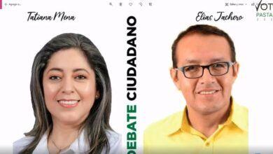 DEBATE CIUDADANO-Tatiana Mena y Elías Jachero