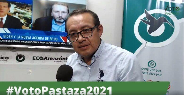 Elias Jachero, en VotoPastaza2021